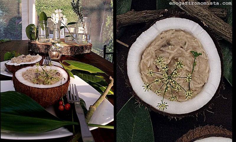 Creamy mushroom risotto (1/2)