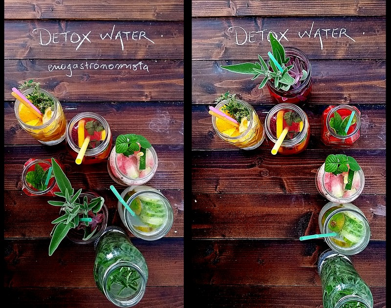 Detox - infused water for weight loss (1/6)