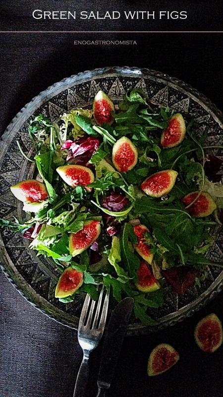 Fig & Arugula salad (6/6)