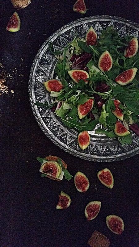 Fig & Arugula salad (3/6)