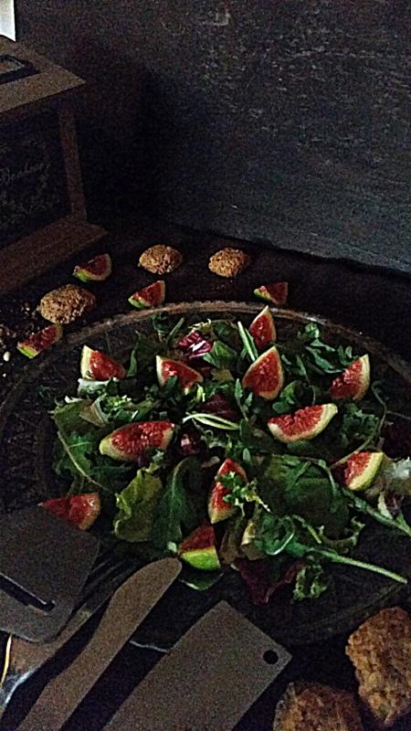 Fig & Arugula salad (2/6)