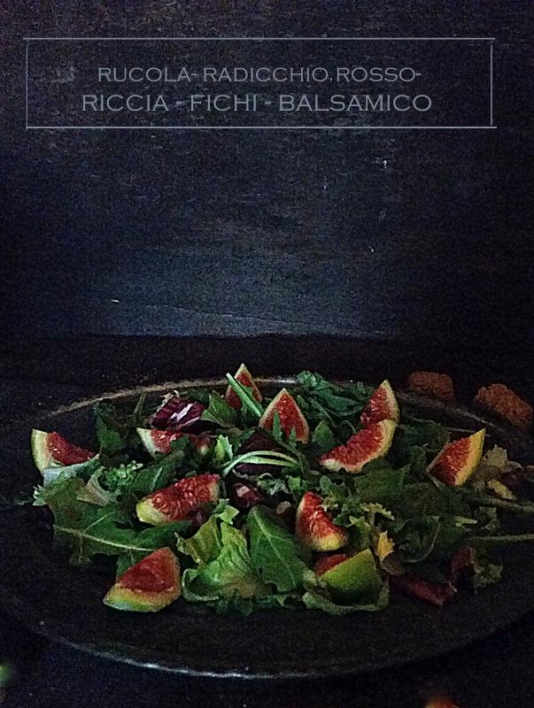 Fig & Arugula salad (1/6)