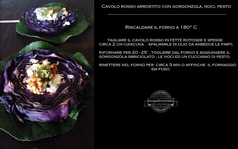 Roasted purple cabbage (2/6)