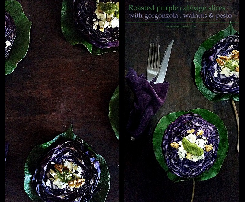 Roasted purple cabbage (5/6)
