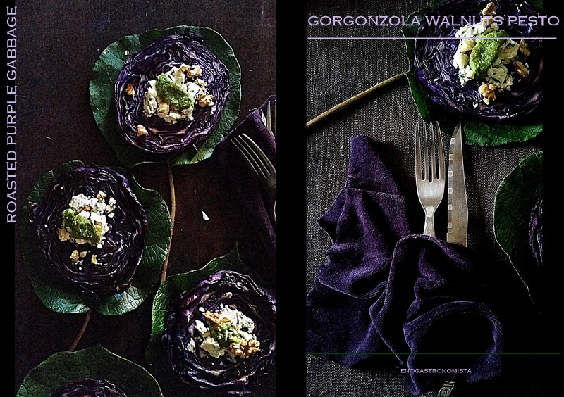 Roasted purple cabbage (6/6)